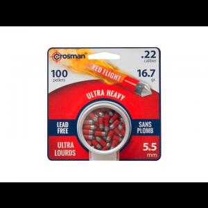 Chumbinho 5.5mm Red Flight Crosman Powershot Penetrators 100 unidades