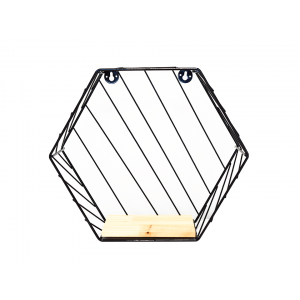 Nicho Hexagonal Decorativo Simona