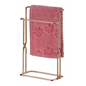 Porta Toalha de Bancada Rosé Gold