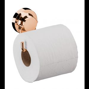 Suporte para Papel Higiênico com Ventosas Rosé Gold