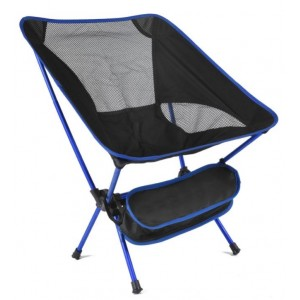 Cadeira Dobrável Azul Simona