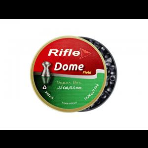 Chumbinho 5.5mm Rifle Field Dome Super Box 250 unidades